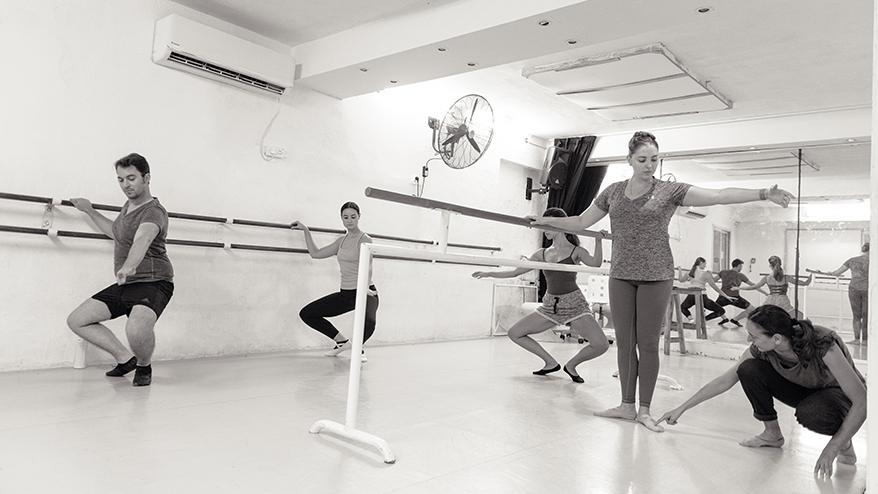 ballet lesson studio L tel aviv